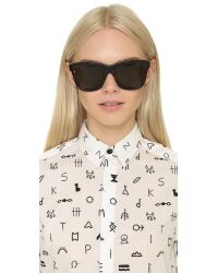 KENZO | Brown Square Sunglasses | Lyst