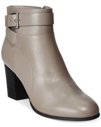 Cole Haan | Gray Rhinecliff Booties | Lyst