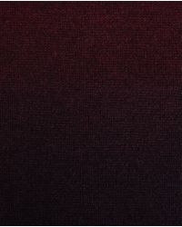 Ted Baker | Red Sprayed Ombre Scarf for Men | Lyst