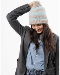 Wool And The Gang | Blue Gimme Beanie | Lyst