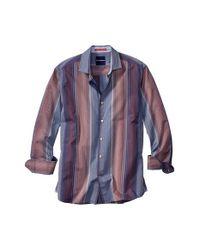 Tommy Bahama | Blue 'Gran Premio' Stripe Sport Shirt for Men | Lyst