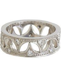 Cathy Waterman Metallic Dragon Tooth Ring