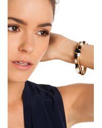 Trina Turk Metallic Snake Chain Flex Bracelet