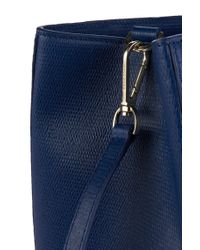 BOSS Blue Leather Handbag: 'maila-f'