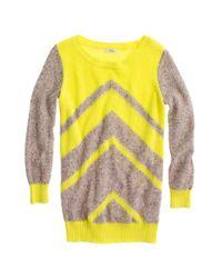 Madewell Yellow Patternplay Sweater