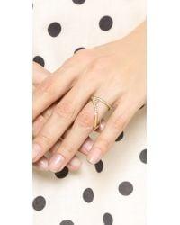 Vita Fede Metallic Esposti Ring - Gold