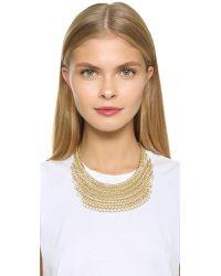 Adia Kibur Metallic Sadie Necklace - Gold