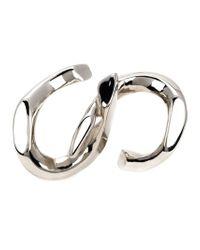 Annelise Michelson Metallic 'déchainée' Double Ring