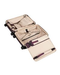 Tumi - Purple Alpha 2 Aubergine Continental Expandable 4-wheel Carry-on - Lyst