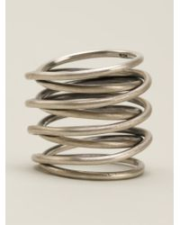 Kelly Wearstler - Metallic Small Twisted Ring - Lyst
