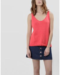 Wool And The Gang | Pink Farrah Top | Lyst