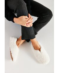 Urban Outfitters | White Uo Fluffy Slipper | Lyst
