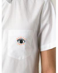 KENZO - White 'Eye' Shirt for Men - Lyst
