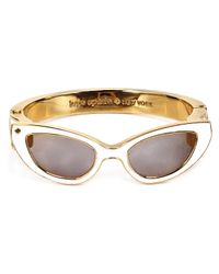 Kate Spade | White In The Shade Bangle | Lyst