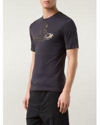 Vivienne Westwood | Black Orb Print T-Shirt for Men | Lyst