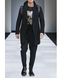 Emporio Armani   Gray Jumper In Virgin Wool for Men   Lyst