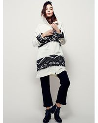 Free People - White Womens Keep Me Warm Cardi - Lyst