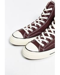 Converse - Brown Chuck Taylor All Star 70S High-Top Sneaker for Men - Lyst