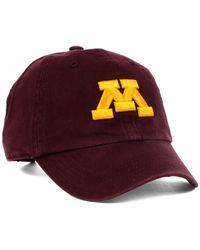 47 Brand - Purple Kids' Minnesota Golden Gophers Ncaa Clean Up Cap for Men - Lyst
