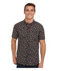 Rip Curl | Black Flower Field Short Sleeve Shirt for Men | Lyst