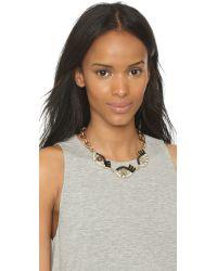 Lulu Frost - Metallic Lumen Necklace - Black Multi - Lyst