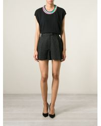 Love Moschino - Black Knitted Dress - Lyst