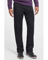 Volcom | Black Modern Straight Leg Chinos for Men | Lyst