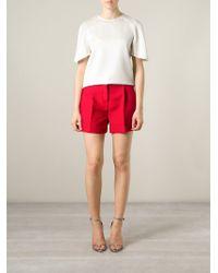 Valentino - Tailored Shorts - Lyst
