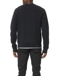 Fred Perry | Black Authentic Sweatshirt for Men | Lyst