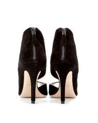 Miu Miu | Black Suede Sandals | Lyst