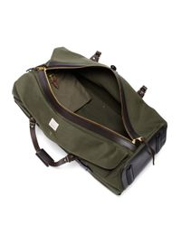 Brooks Brothers Green Filson Wheeled Large Duffle for men