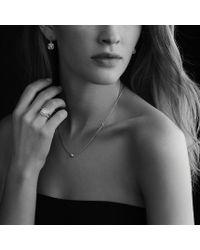 David Yurman - Purple Albion Drop Earrings with Amethyst and Diamonds - Lyst