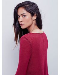 Free People | Red Intimately Womens Soulshine Layering Top | Lyst