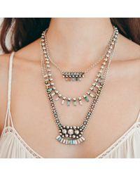 DANNIJO - Metallic Desi Necklace - Lyst