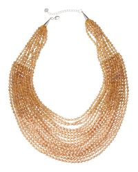 Nakamol | Natural Layered Bead Statement Necklace | Lyst