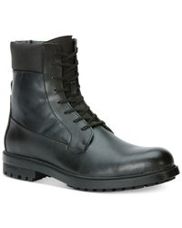Calvin Klein Black Gable Boots for men