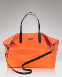 Cole Haan Orange Tote Crosby Nylon