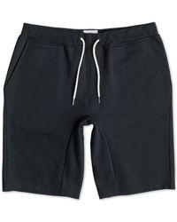 Quiksilver | Gray Holman Fleece Shorts for Men | Lyst