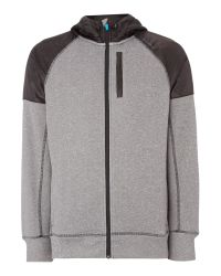 Björn Borg | Gray Pelsa Zip Through Hoodie for Men | Lyst