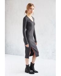 Just Female - Gray Mitsu Dress - Lyst