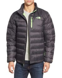 The North Face Gray 'aconcagua' Goose Down Jacket for men