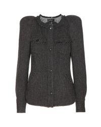 Isabel Marant Black Florent Wool Jacket