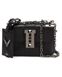 Valentino - Black Small B-rockstud Cross-Body Bag - Lyst
