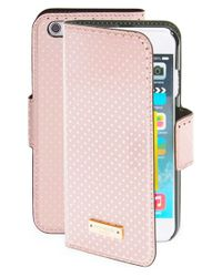 kate spade new york | Pink 'tiny Gold Dot' Iphone 6 Folio Case | Lyst