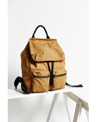 Urban Outfitters - Brown Uo Canvas Army Backpack - Lyst