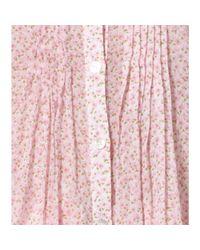 Michael Kors Multicolor Floral-Print Cotton-Voilé Tunic
