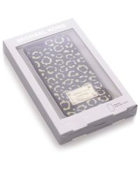 MICHAEL Michael Kors | Metallic Leopard Iphone 6 Case | Lyst