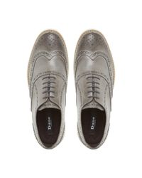 Dune Gray Bayside White Wedge Shoes for men