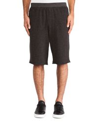 ATM - Gray French Terry Sweatshorts for Men - Lyst