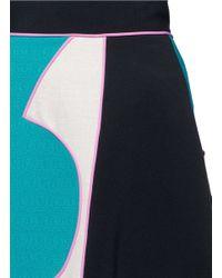 ROKSANDA Multicolor 'amara' Mélange Colourblock Maxi Skirt